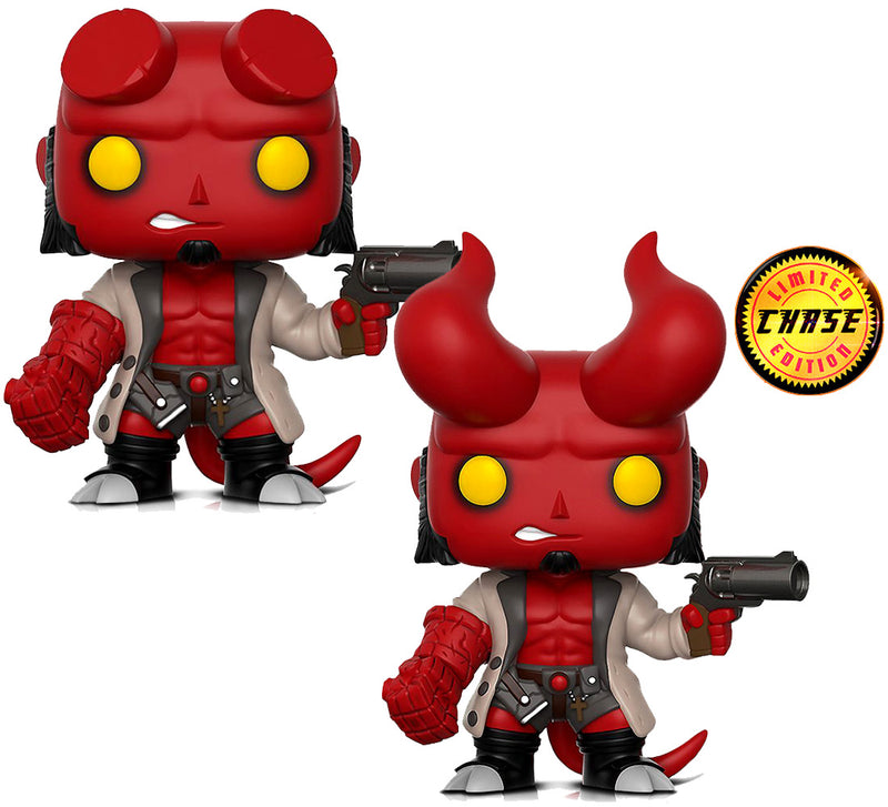 Funko Funko Pop Hellboy Original And Hellboy Pop Chase Special Edition Vinyl Figure Toys Action Figures Action Figures Toys