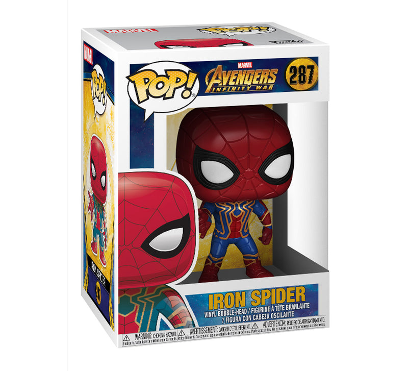 Pop Marvel Infinity War Iron Spider Action Figure
