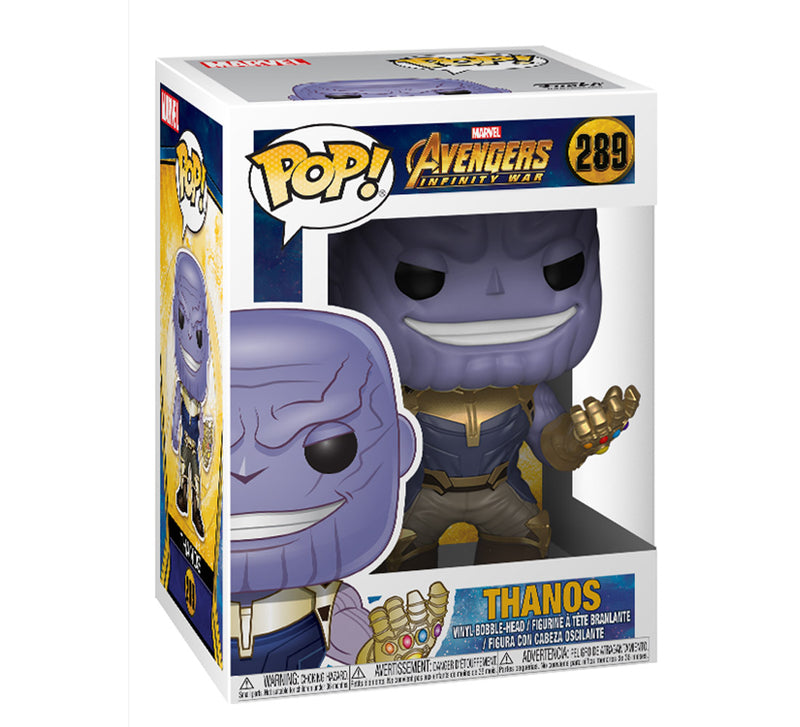 Pop Marvel Infinity War Thanos Action Figure