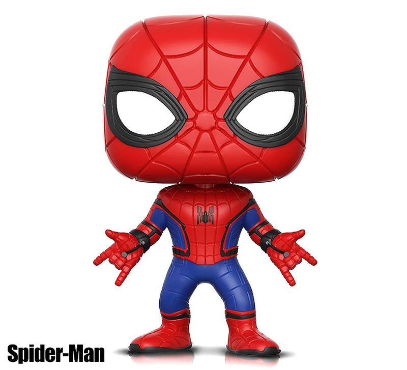 Pop Marvel Spider-Man and Infinity War Iron Spider Action Figures