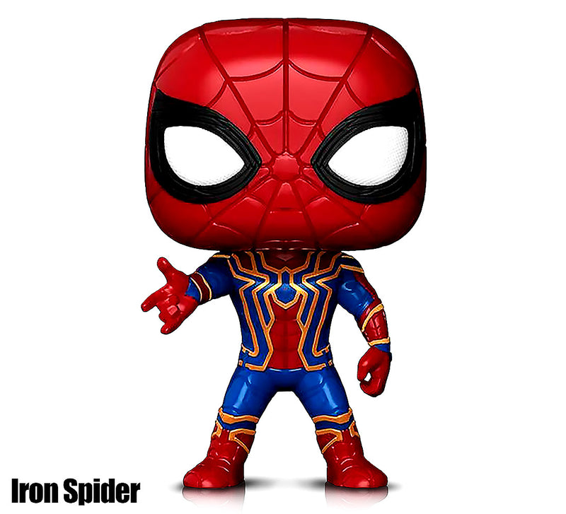 Marvel's Spider Man, Spider Man Proto & Iron Spider Action Figures