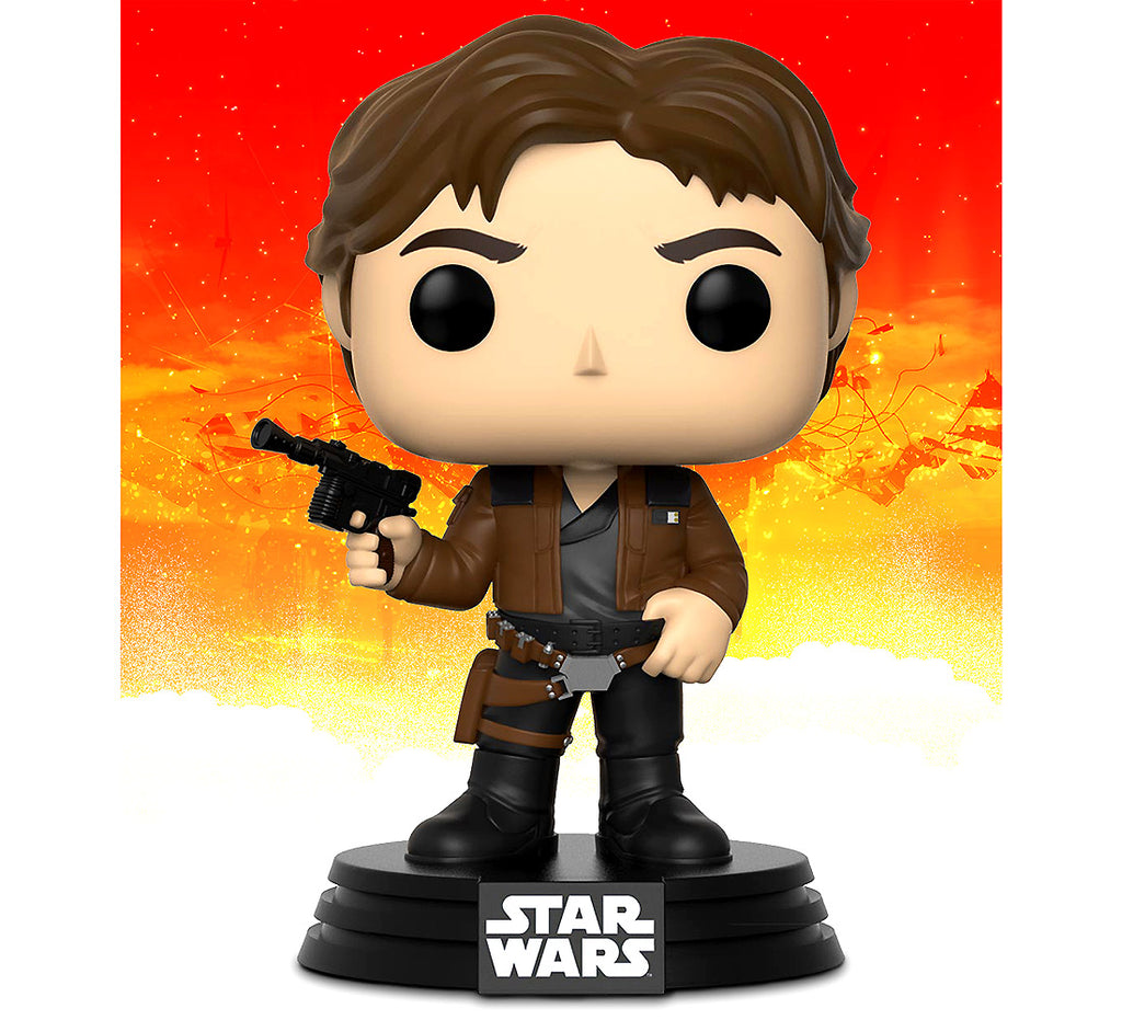 Pop Star Wars Solo Han Solo