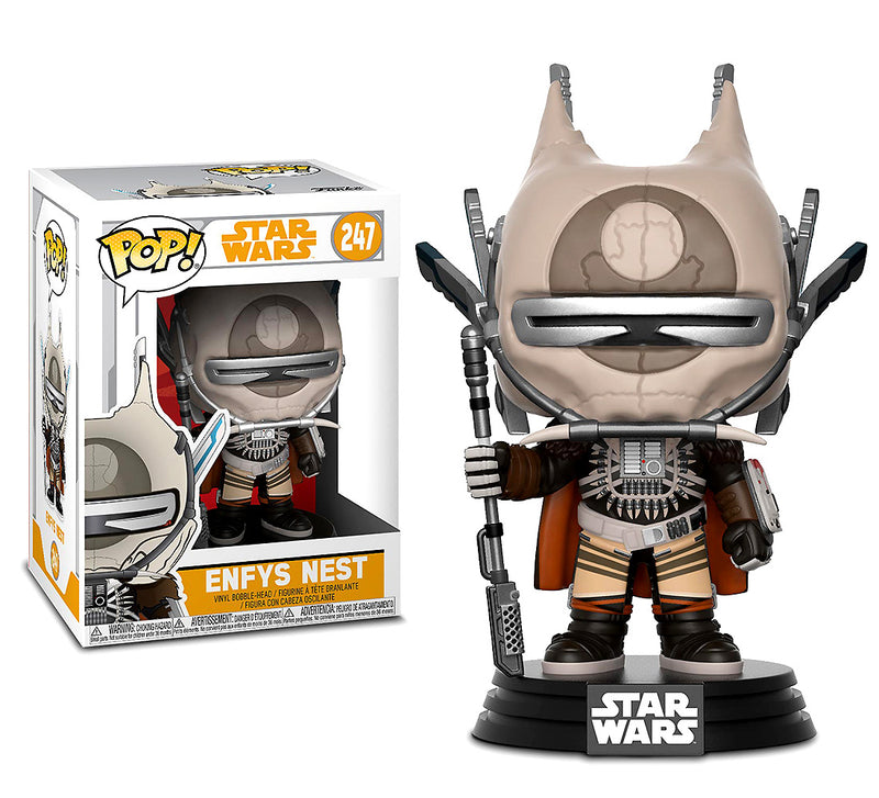 Pop Star Wars Solo Enfys Nest Bobble Head