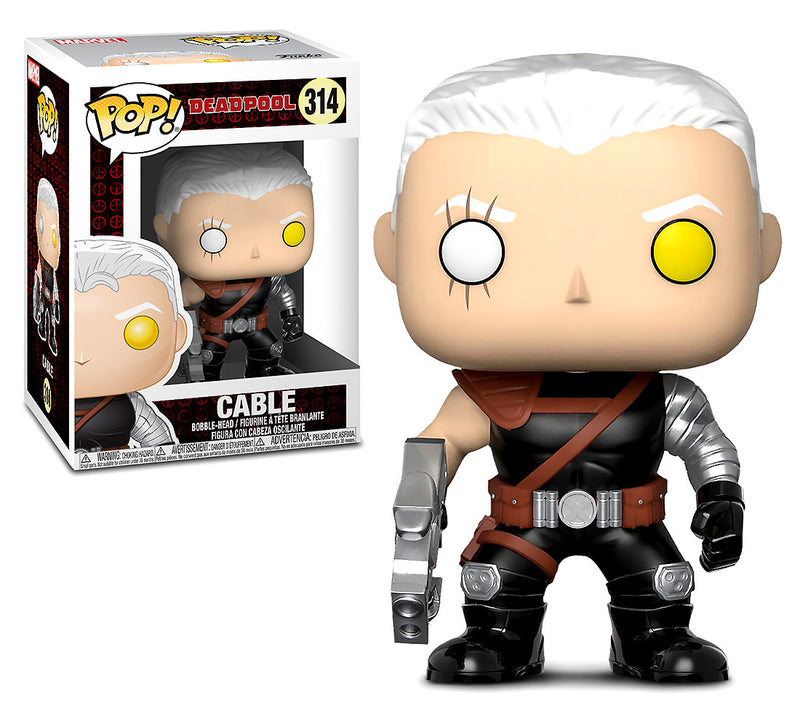 Pop Marvel Deadpool Parody Cable Bobble Head