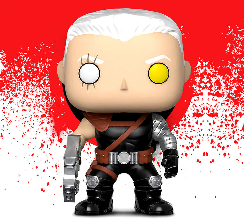 Pop Marvel Deadpool Parody Negasonic and Cable Action Figure Bobble Heads