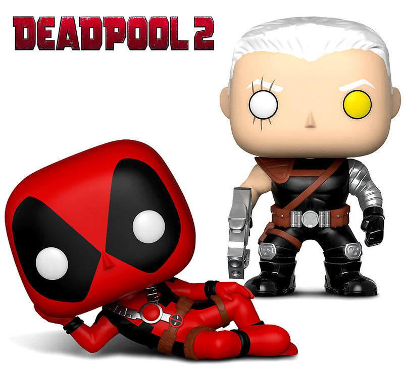 Funko Pop Marvel Deadpool Parody Deadpool and Cable Action Figure Bobble Heads Action Figures Toys