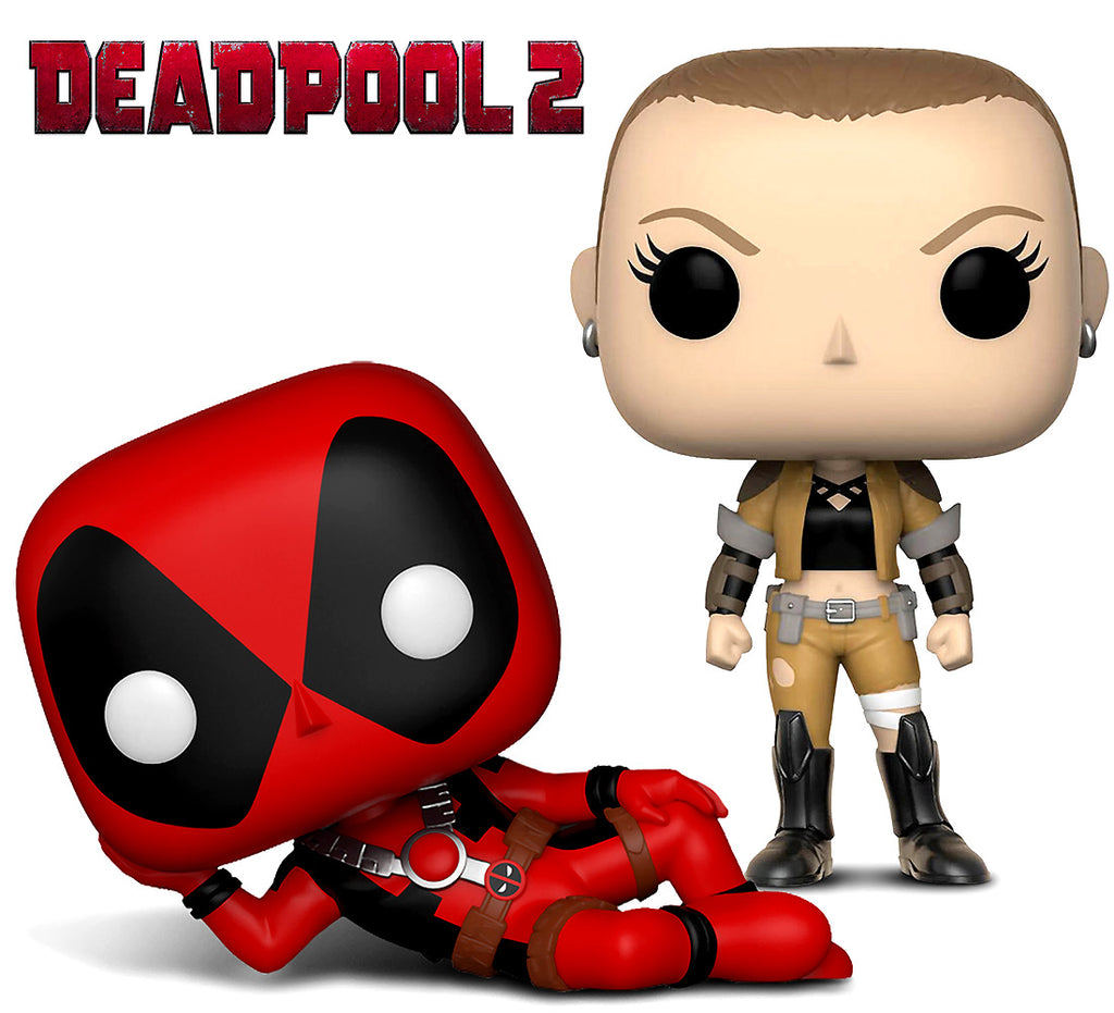Funko Pop Marvel Deadpool Parody Deadpool and Negasonic Action Figure Bobble Heads Action Figures Toys
