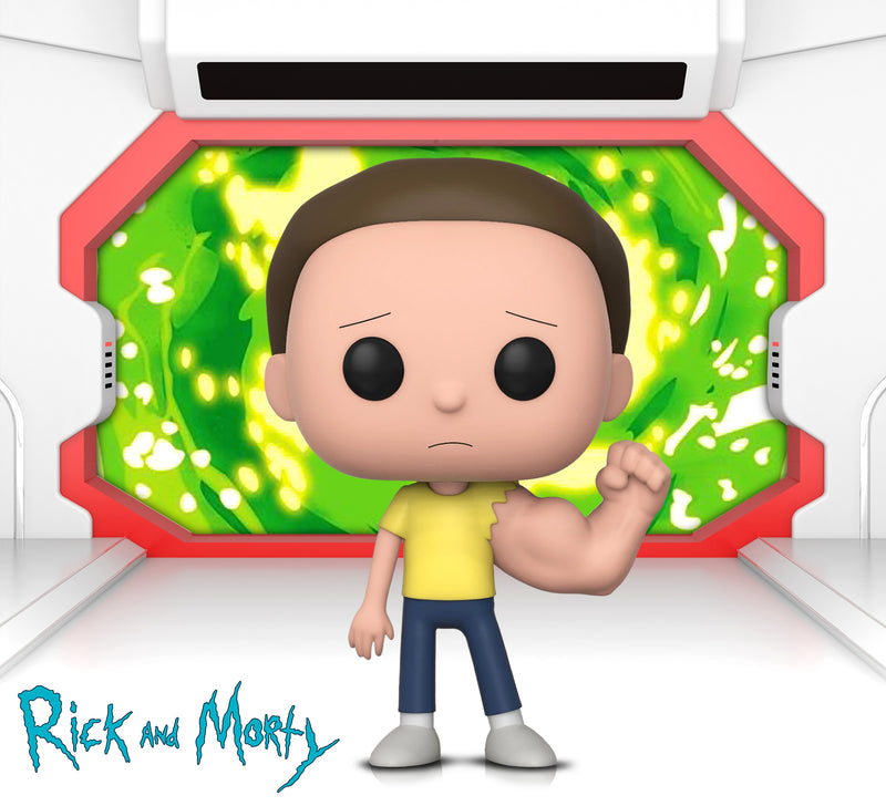 POP Animation Rick and Morty Sentinent Arm Morty and Weaponized Rick