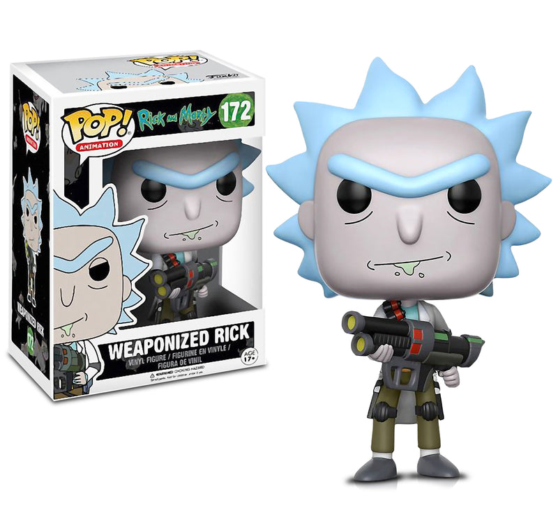 POP Animation Rick and Morty Weaponized Rick