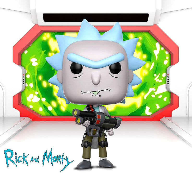 Funko POP Animation Rick and Morty Weaponized Rick Action Figures Toys