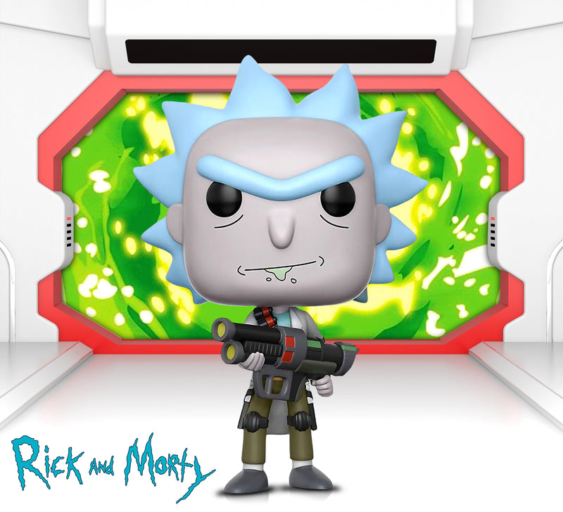 POP Animation Rick and Morty Weaponized Rick and Weaponized Rick w/CHASE