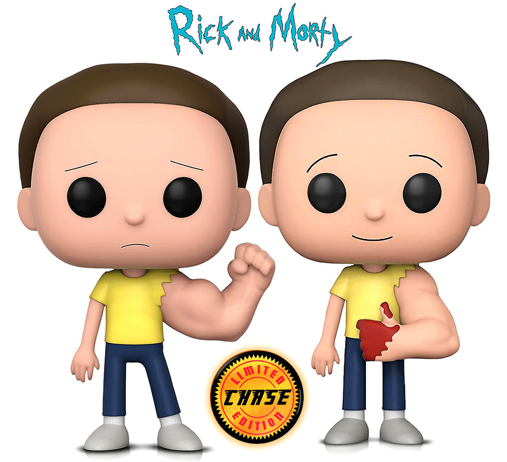 Funko POP Animation Rick and Morty Sentinent Arm Morty and Sentinent Arm Morty w/Chase Action Figures Toys