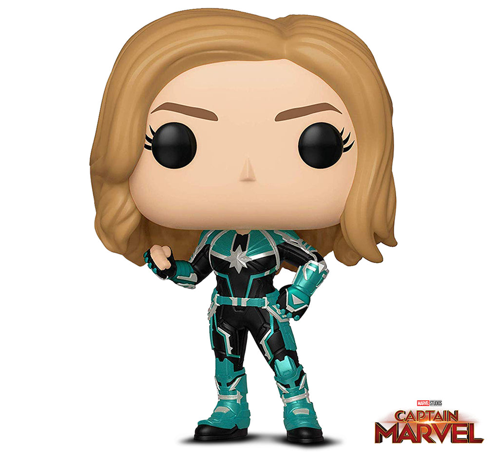 Funko Pop! Marvel: Captain Marvel- Vers