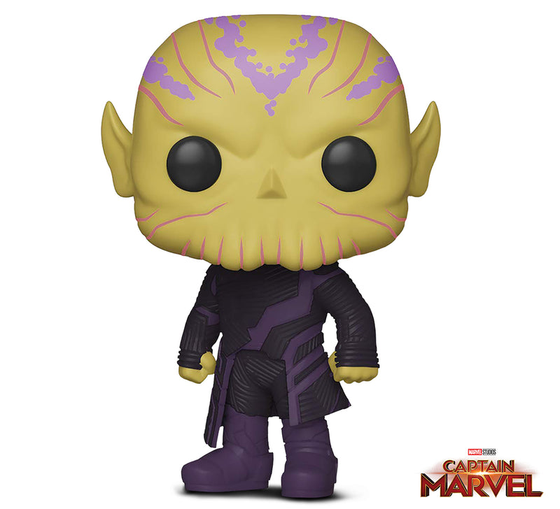 Funko Pop! Marvel: Captain Marvel - Talos Toy, Multicolor