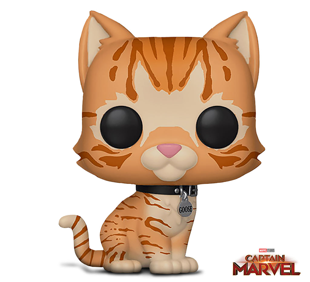Funko Pop! Marvel: Captain Marvel- Goose The Cat