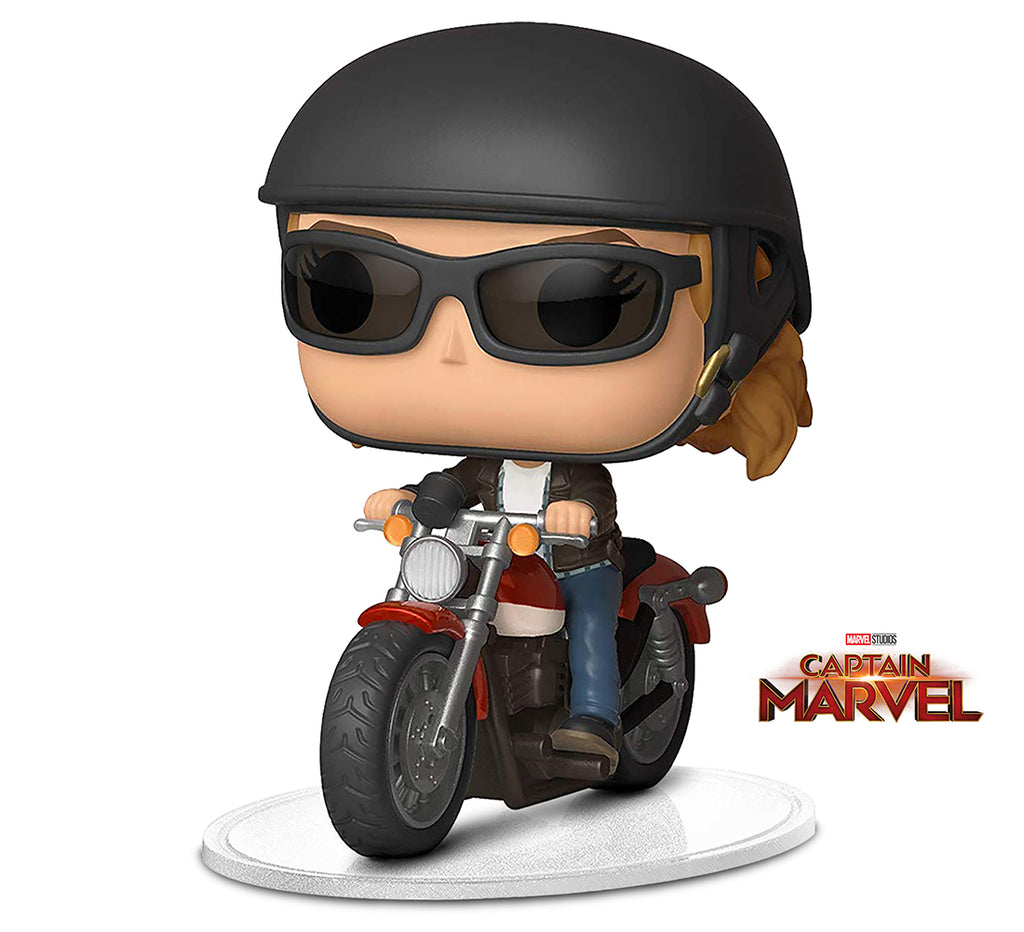 Funko Pop! Ride: Marvel: Captain Marvel- Carol Danvers Motorcycle