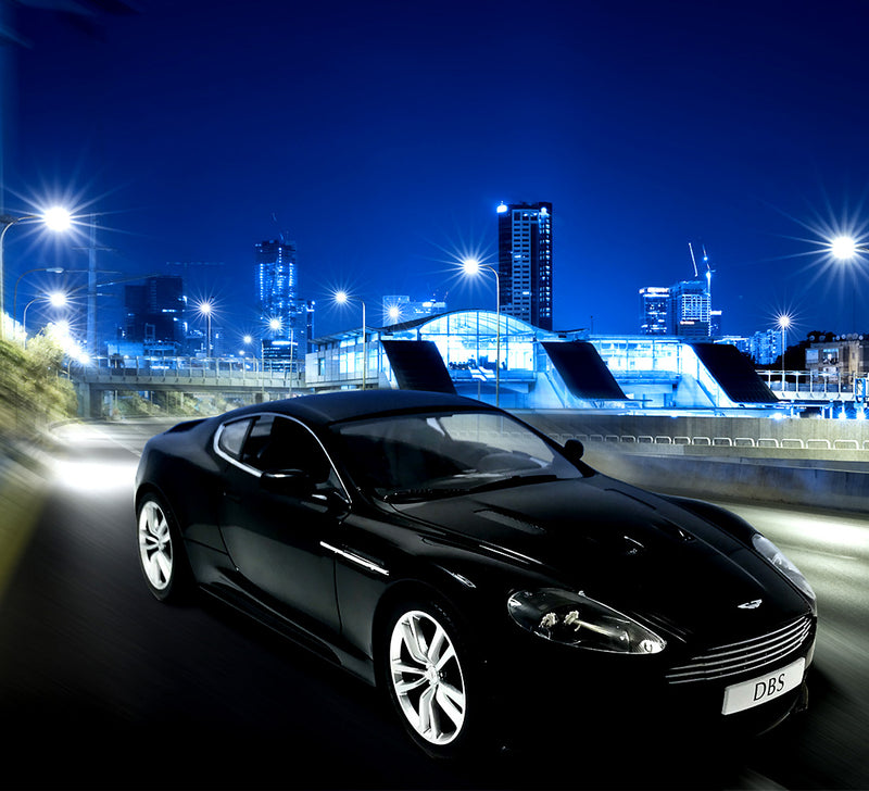 Licensed Black Aston Martin DBS Coupe 1:14 Scale