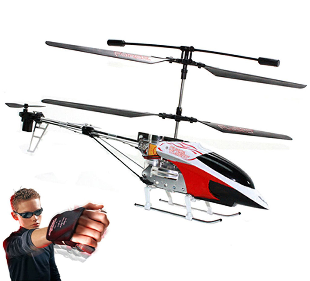 "ForceFlyers Force Flyers 20"" Xl Indoor/Outdoor Helicopter With Motion Control Remote Controlled Toys"