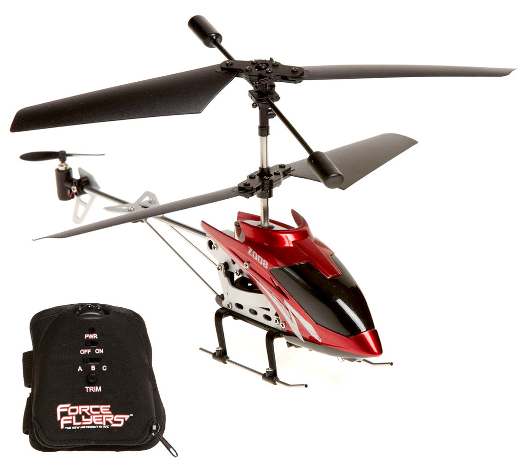 ForceFlyers Force Flyers Motion Control 3Ch Helicopter Remote Controlled Toys