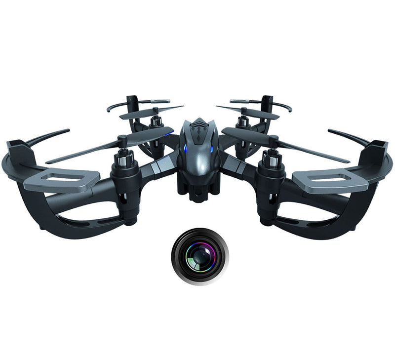 "ForceFlyers Force Flyers 6"" Action Drone W/Hi Res Camera & Auto Return …  Remote Controlled Toys"