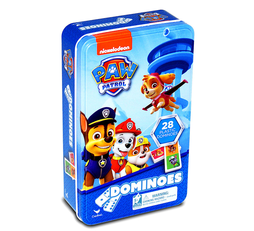 Nickelodeon Paw Patrol Dominoes Tin Puzzles Toys