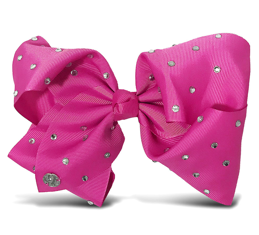 I WEAR JOJO Jojo Siwa Berry Signature Bow With Rhinestones Hair Accessories Toys