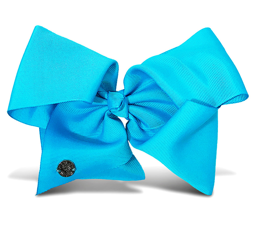 I WEAR JOJO Jojo Siwa Teal Basic Bow On Metal Salon Clip Hair Accessories Toys