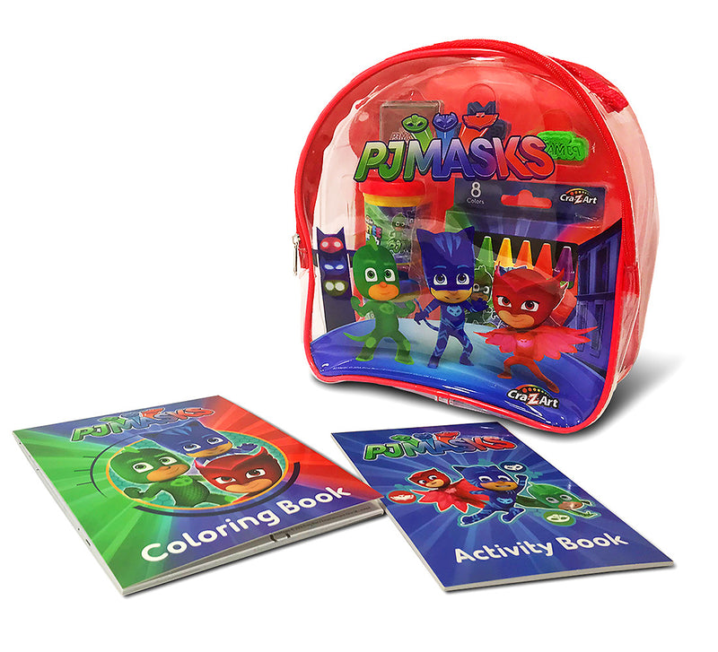 Cra-Z-Art Pj Masks Coloring and Activity Backpack - Assorted Colors (Red/Blue)