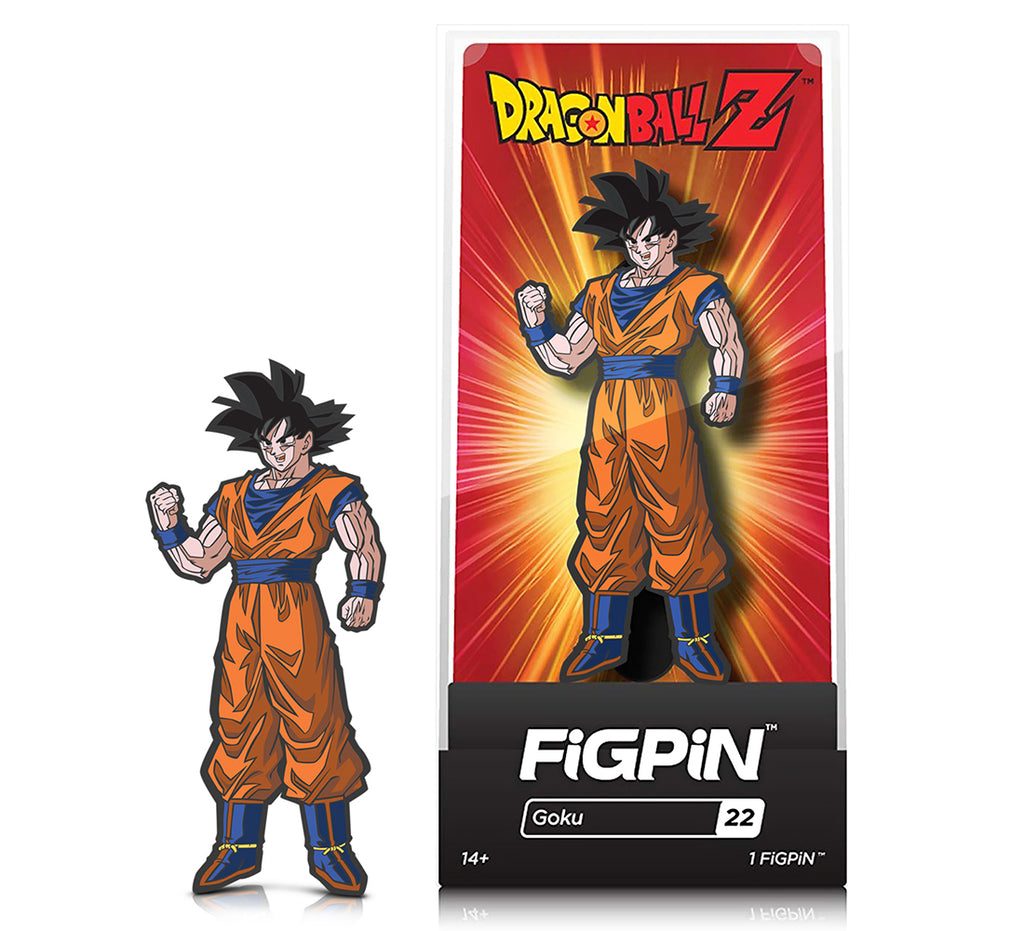 CMD Collectibles FiGPiN - Dragonball Z Series 1 - GOKU