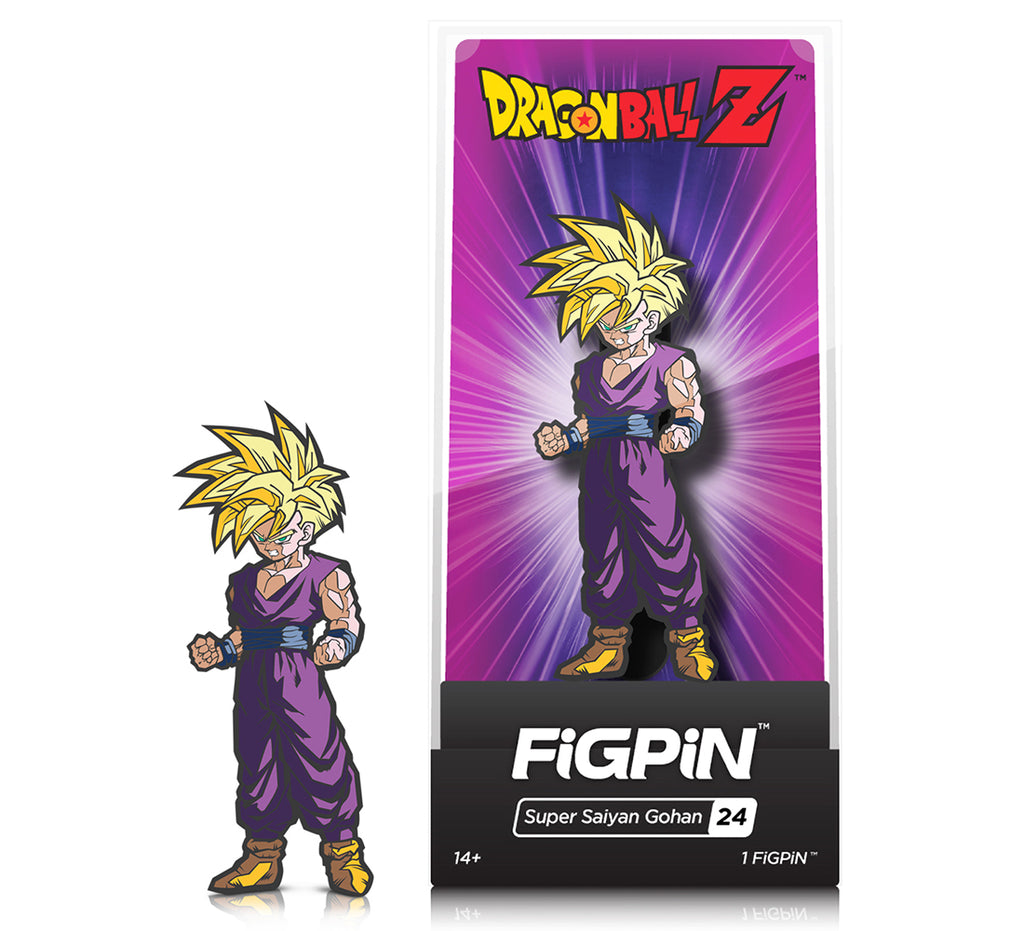 CMD Collectibles FiGPiN - Dragonball Z Series 1 - SUPER SAIYAN GOHAN