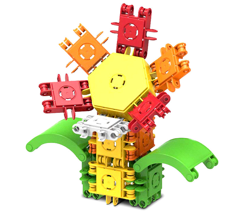 Clicformers Clicformers Flower 21 Pieces Educational Building Blocks, Construction Stem Toy Boosting Creativity Educational Toys