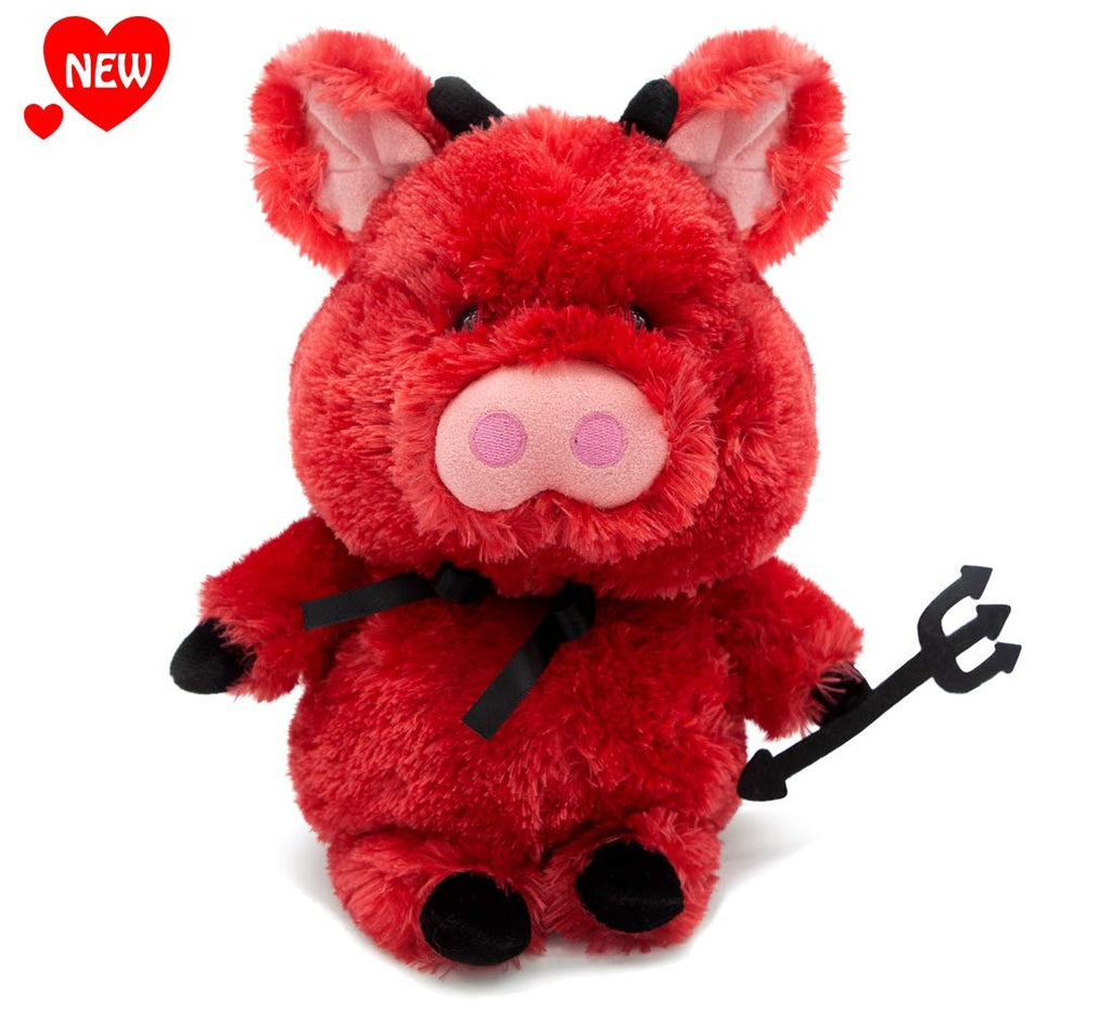 Aurora World Deviled Ham Red Pig 12""