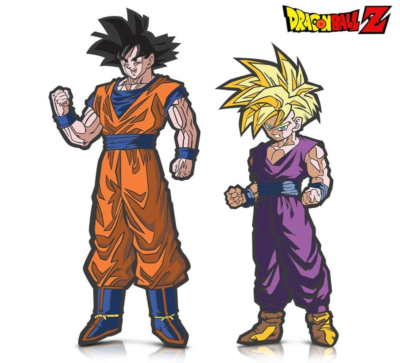 Warp Gadgets Bundle - FigPin - Dragon Ball Z: Goku and Super Saiyan Gohan (2 Items)