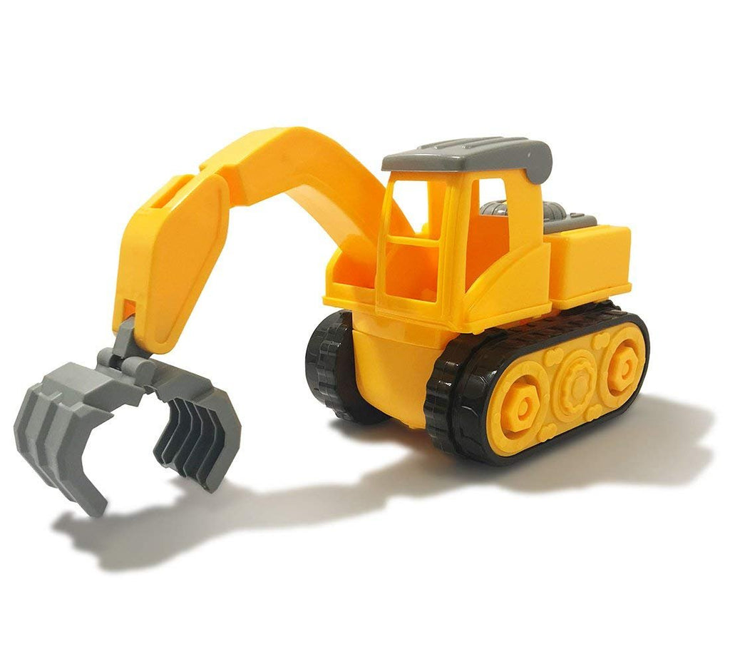 Warp Gadgets - Construction Claw Truck - Create & Play Set - Build, Assemble, Take Apart, DYI Toy