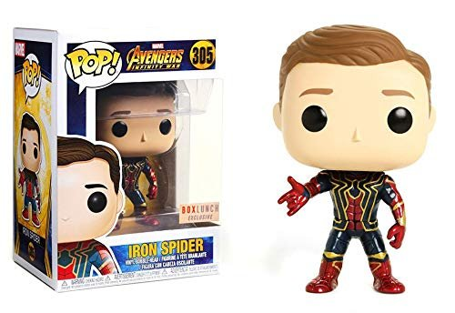 Funko Pop! Marvel Avengers Infinity War Iron Spider #305 (Unmasked)