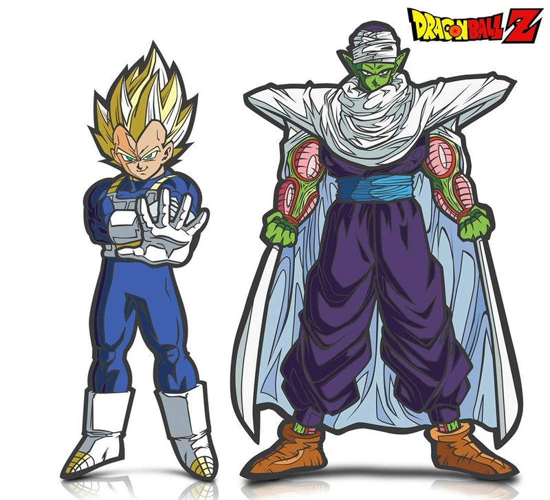 Warp Gadgets Bundle - FigPin - Dragon Ball Z: Super Saiyan Vegeta and Piccolo (2 Items)