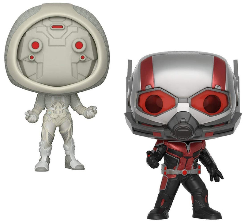 Warp Gadgets Bundle - Funko Pop Marvel: Ant-Man & The Wasp - Ant-Man And Ghost Collectible Vinyl Figures (2 Items)