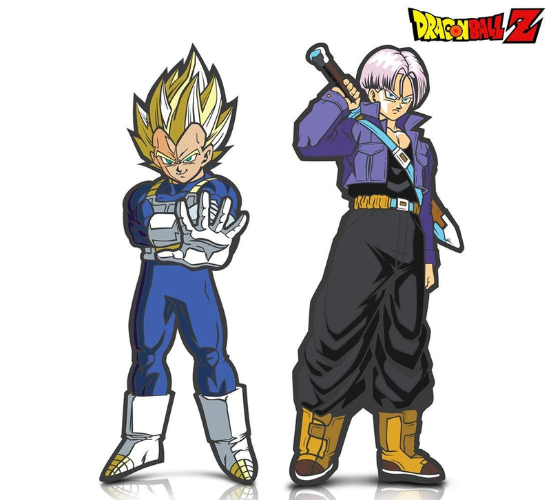 Warp Gadgets Bundle - FigPin - Dragon Ball Z: Super Saiyan Vegeta and Trunks (2 Items)