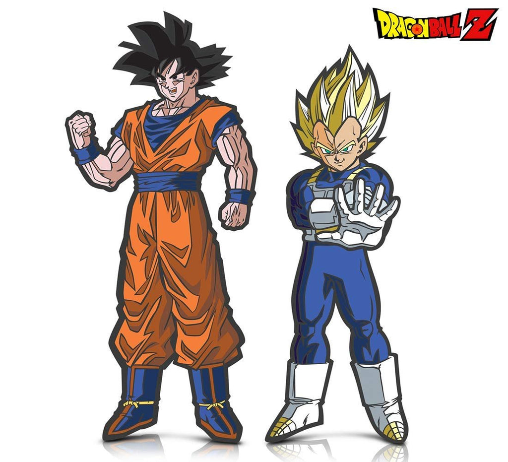 Warp Gadgets Bundle - FigPin - Dragon Ball Z: Goku and Super Saiyan Vegeta (2 Items)