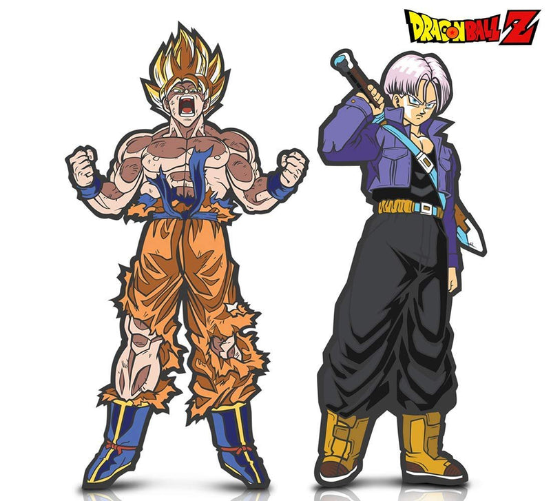 Warp Gadgets Bundle - FigPin - Dragon Ball Z: Trunks and Super Saiyan Goku (2 Items)