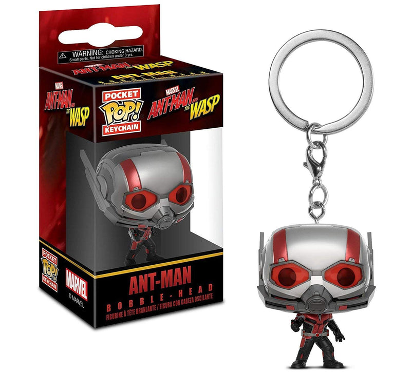 Warp Gadgets Bundle - Funko Pop Marvel: Ant-man & The Wasp: Ghost And Pocket Pop Keychain Ant-Man (2 Items)