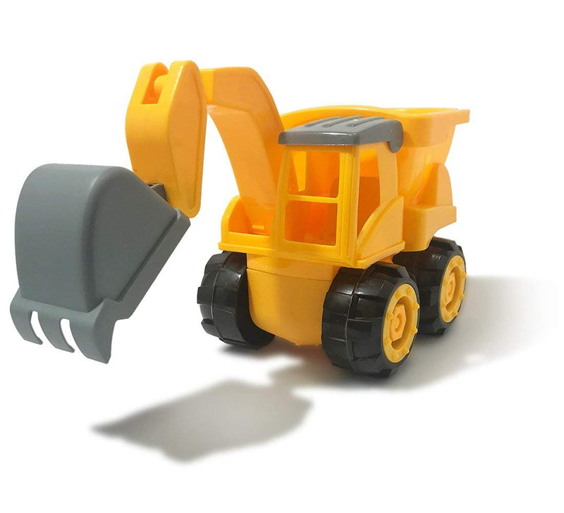 Warp Gadgets - Construction Excavator Truck - Create & Play Set - Build, Assemble, Take Apart, DYI Toy