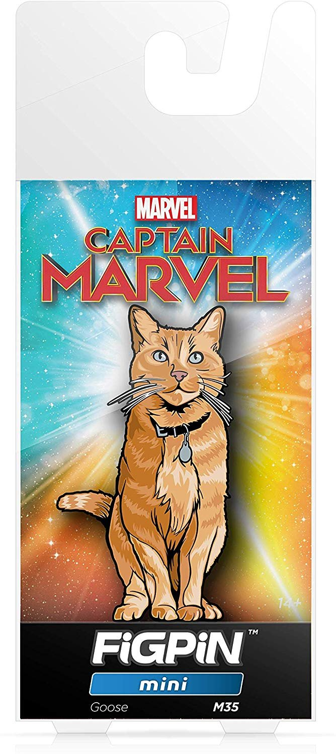 FiGPiN Mini Captain Marvel: Goose - Collectible Pin