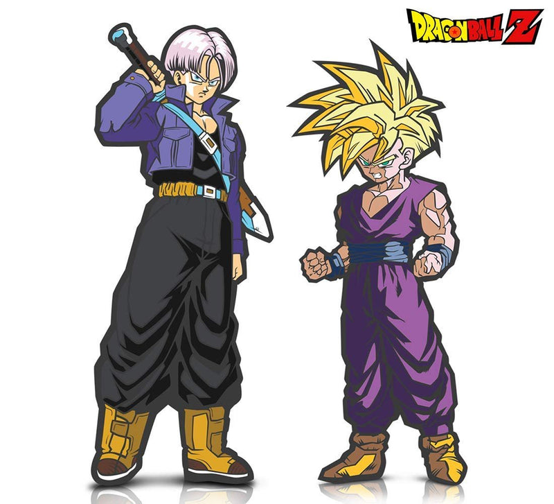 Warp Gadgets Bundle - FigPin - Dragon Ball Z: Super Saiyan Gohan and Trunks (2 Items)