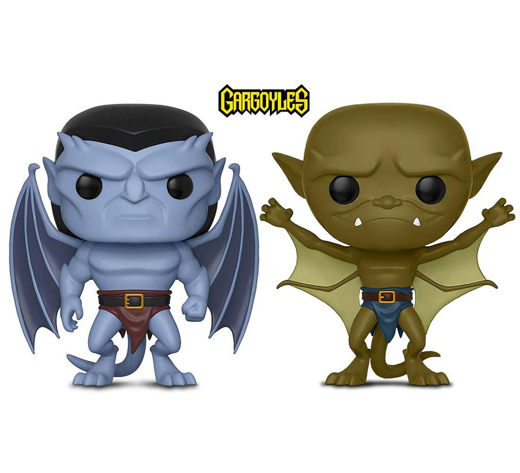 Warp Gadgets Bundle - Funko Pop! Disney: Gargoyles - Goliath & Lexington - Collectible Vinyl Figures ( 2 Items )