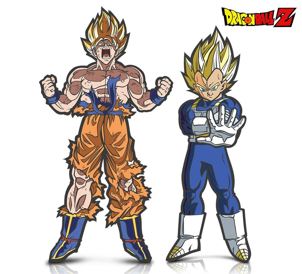 Warp Gadgets Bundle - FigPin - Dragon Ball Z: Super Saiyan Goku and Super Saiyan Vegeta (2 Items)
