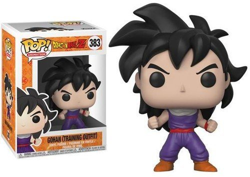 Funko Pop Animation: Dragonball Z-Gohan (Training Outfit) Collectible Figure, Multicolor