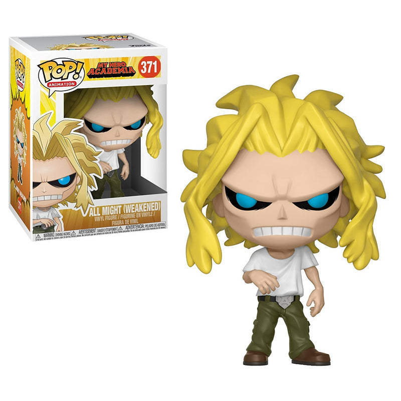 Funko Pop Animation: My Hero Academia-All Might Collectible Figure, Multicolor