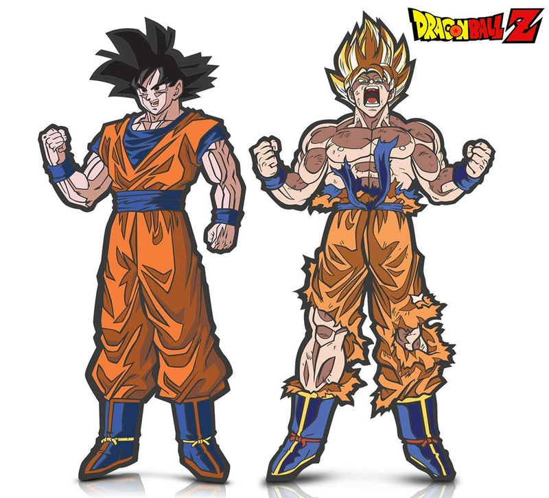 Warp Gadgets Bundle - FigPin - Dragon Ball Z: Goku and Super Saiyan Goku (2 Items)
