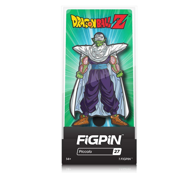 Warp Gadgets Bundle - FigPin - Dragon Ball Z: Piccolo and Super Saiyan Goku (2 Items)